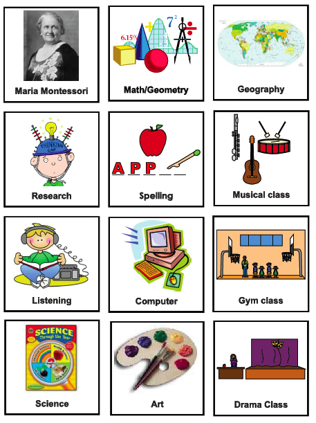 Classroom Design Aids Student Learning ~ Visuals for asd
